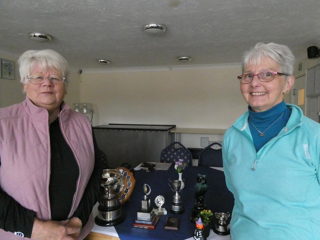 Ladies Trophy Winners October 2019