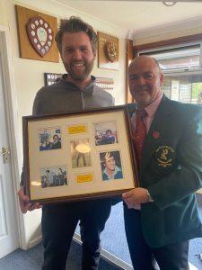 Alex Evans - Seve Trophy Winner 1st August 2021